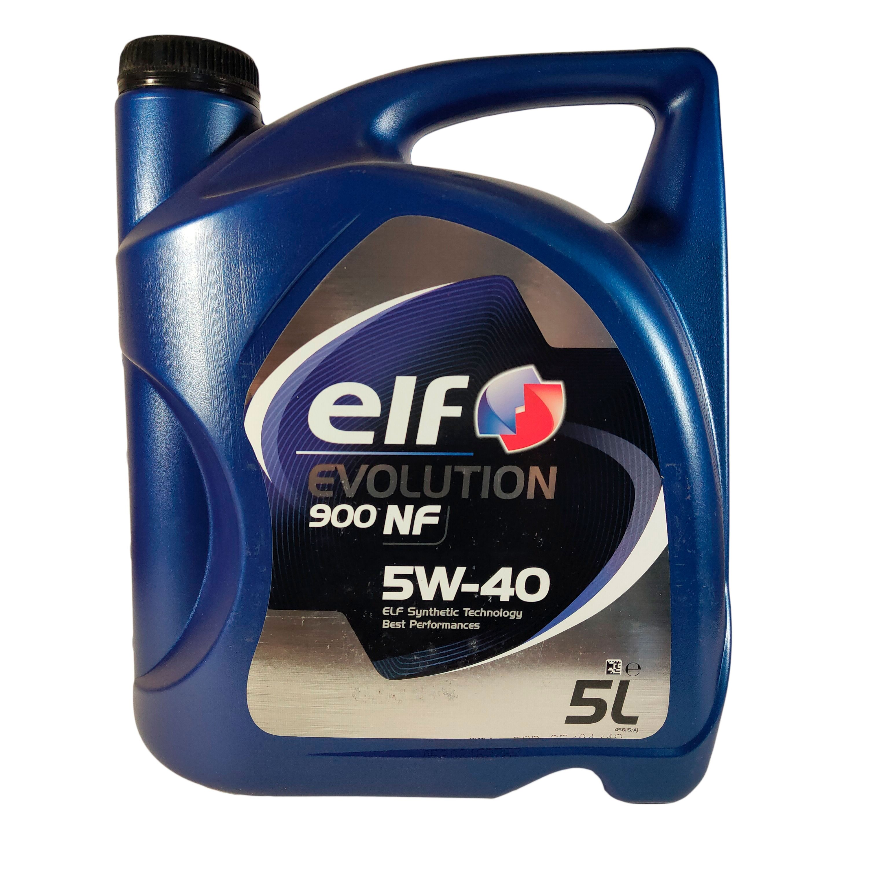 Моторное масло Elf Evolution 5W-40 NF 5 л 1